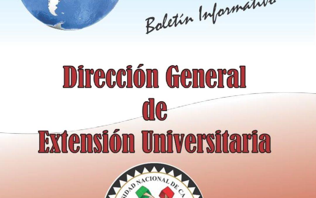 DESTACADAS ACTIVIDADES DE EXTENSIÓN PUBLICADAS EN BOLETÍN INFORMATIVO DE LA UNCA.