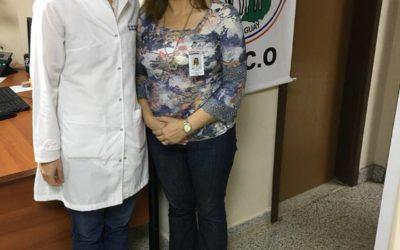 EGRESADA DE FCM ACCEDE A PUESTO LABORAL COMO MEDICO ESPECIALISTA EN IPS.