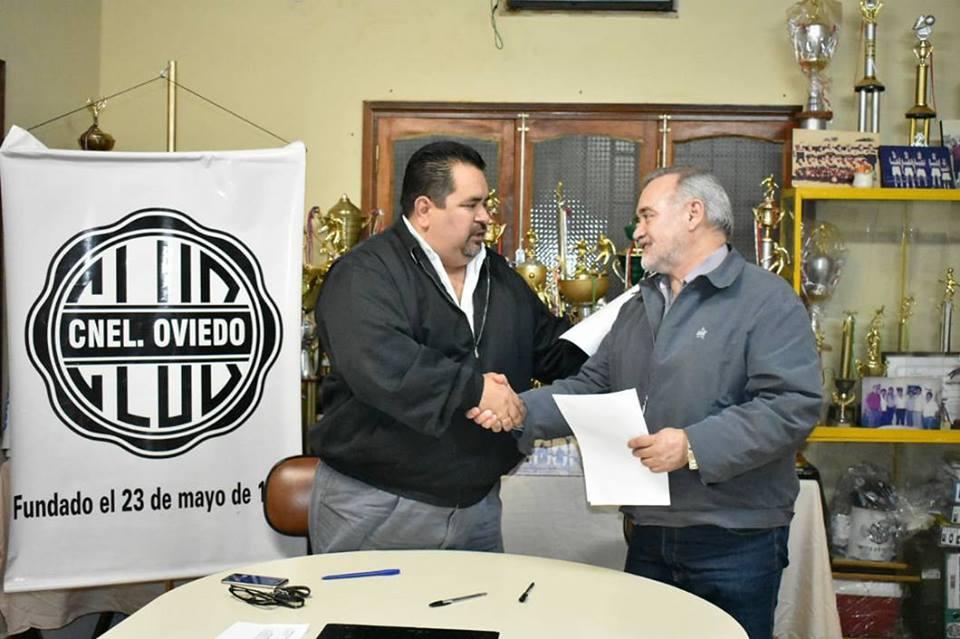 CONVENIO CON CLUB CORONEL PARA ACTIVIDADES DEPORTIVAS.