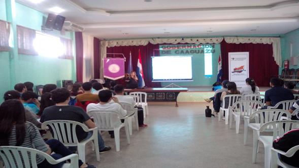 Reunión general con los alumnos de la FCM