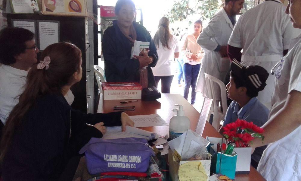 Asistencia Médica a los pobladores de la compañía Aguapety Rugua