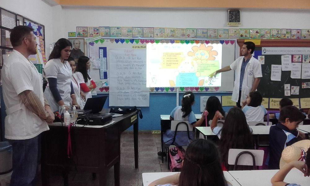 Vida Saludable (Enmarcado en el Proyecto Atención Integral a niños/as de la escuelas seleccionadas).
