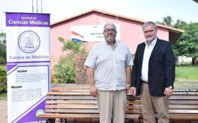 SNPP y Facultad de Ciencias Medicas firmaron Acuerdo de Cooperación Interinstitucional
