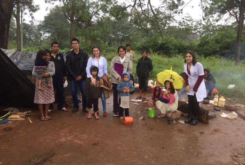 Aspectos sociodemográficos en comunidad indígena asentada en Coronel Oviedo. Taller de análisis de datos