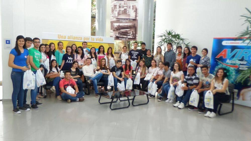 Visita a planta industrial laboratorios LASCA – Casa central Vicente Scavone & Cía.
