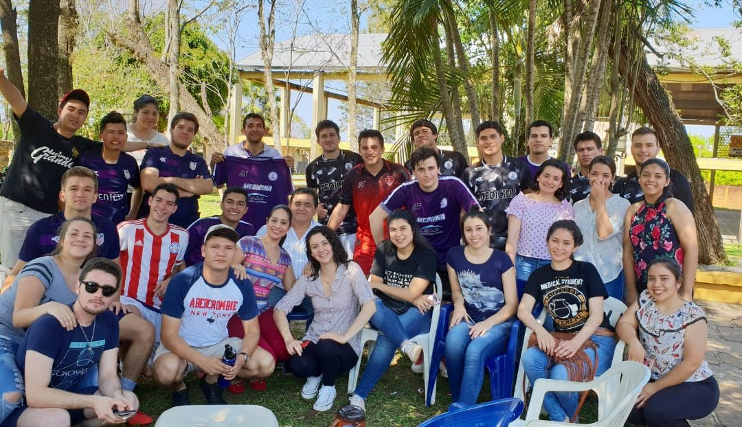 CON ALEGRÍA Y COMPARTIR, ALUMNOS DE FCM CELEBRARON EL DÍA DE LA JUVENTUD.