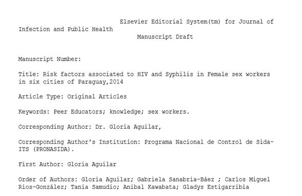 Envío de artículos científicos a revistas de alto impacto para la revisión por pares y posterior publicació