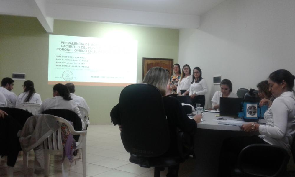 Presentación de Protocolos de investigación de los alumnos del 5to curso de la FCM.