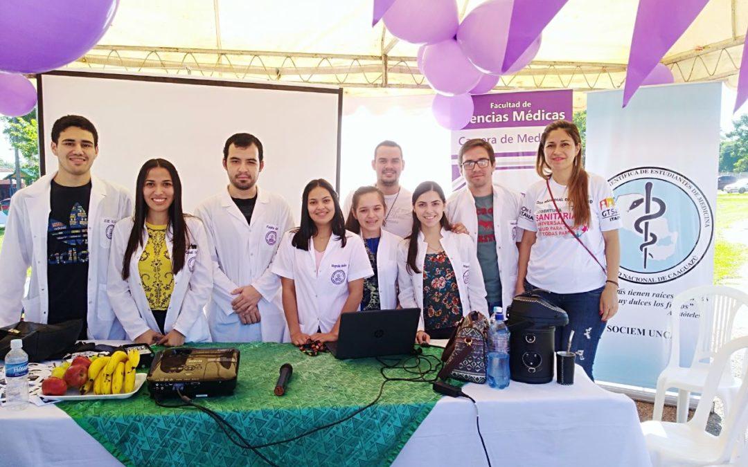 Día Mundial de la Salud (Stand). Charla Educativa sobre la Influenza.