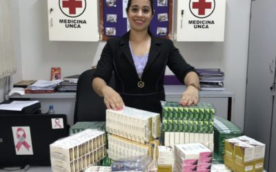 PRESTIGIOSO LABORATORIO REALIZA DONACIÓN DE MEDICAMENTOS A FCM.