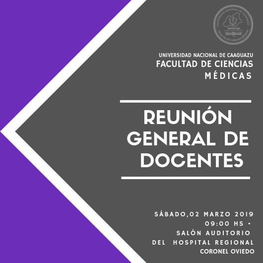 Reunión General de Docentes