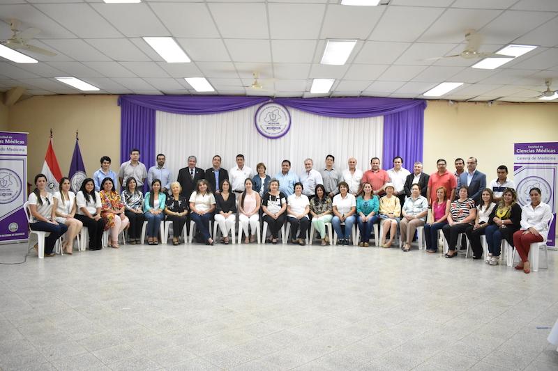 Facultad de Ciencias Médicas  realiza primera reunión docente del año lectivo 2019