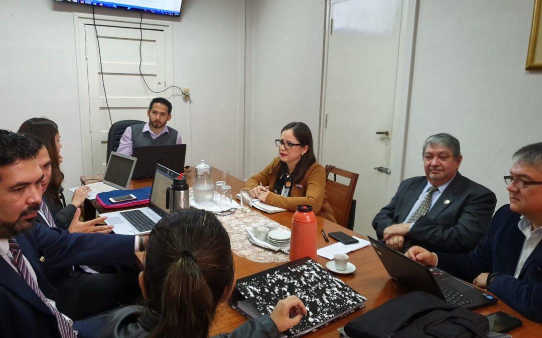 La Facultad de Ciencias Médicas participa de Reunión Taller de Planificación sobre el Hospital Nacional de Coronel Oviedo