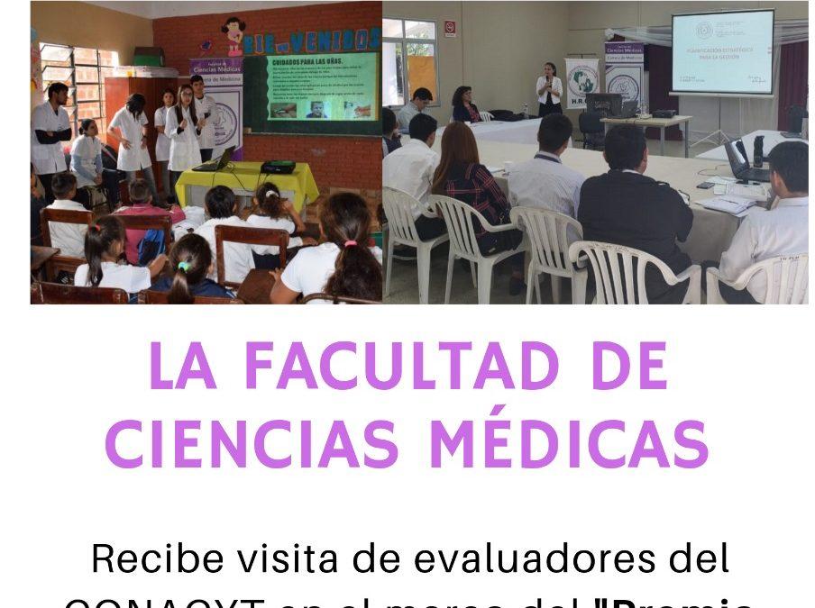 La FCM recibe visita de evaluadores del CONACYT