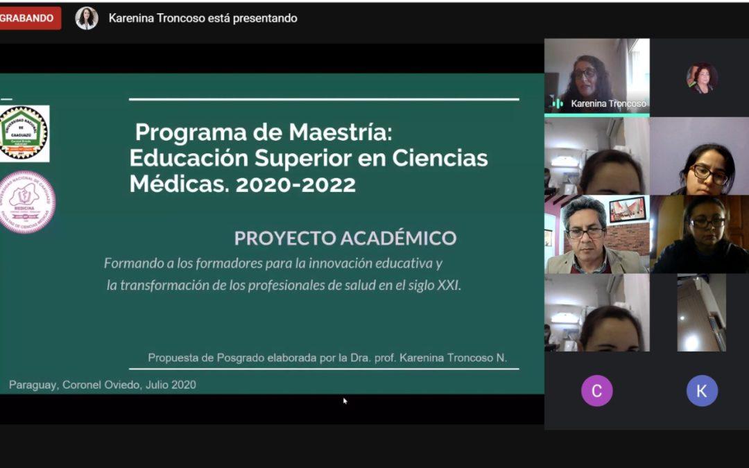 Apertura de la Maestría Educación Superior en Ciencias Médicas