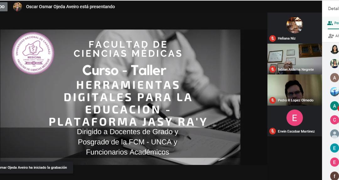 """Curso-Taller de herramientas digitales para la educación – Plataforma Jasy Ra'y""""  NIVEL BÁSICO"""