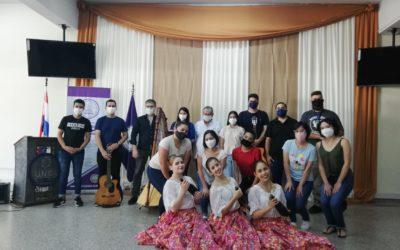 Apertura Oficial de las áreas culturales orquesta – coro – elenco de danza de la Facultad de Ciencias Médicas