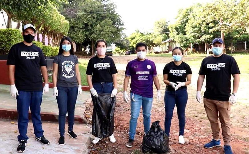 UNCA en acción basura en recolección