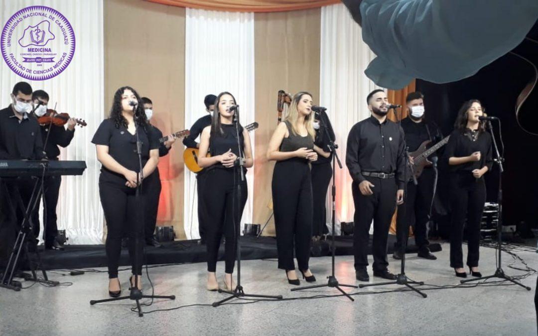 Orquesta de la FCM realizó grabación de un ensamble vocal instrumental