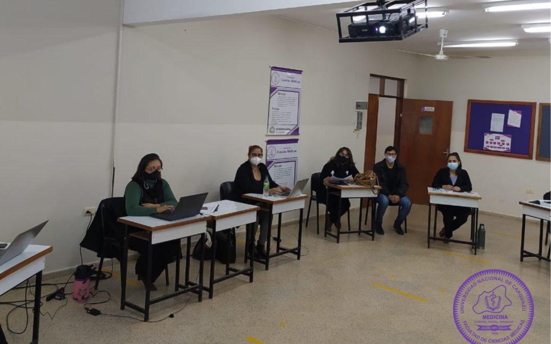 Reunión de trabajo: Comité de Autoevaluación-Dimensión Contexto Institucional-ARCU-SUR