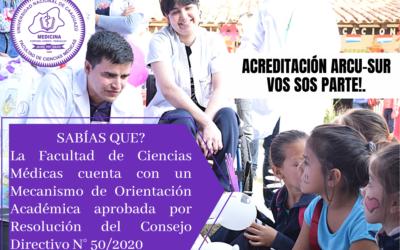 Mecanismo de Orientación Académica de la Facultad de Ciencias Médicas