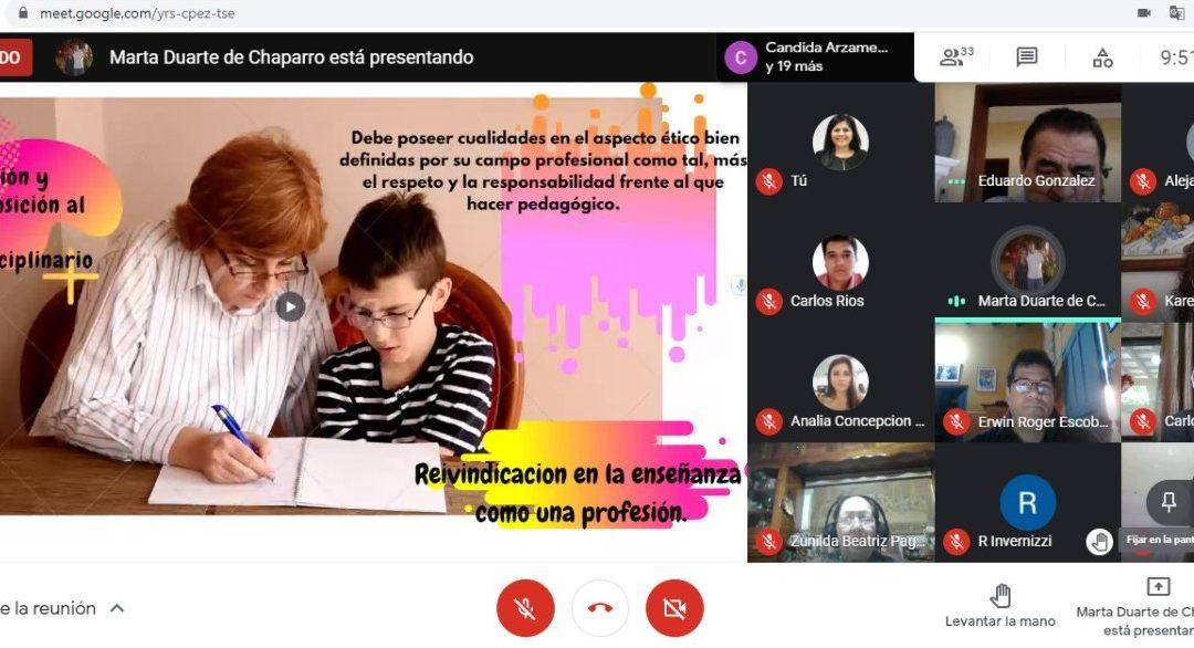 MAESTRÍA EDUCACIÓN SUPERIOR EN CIENCIAS MÉDICAS